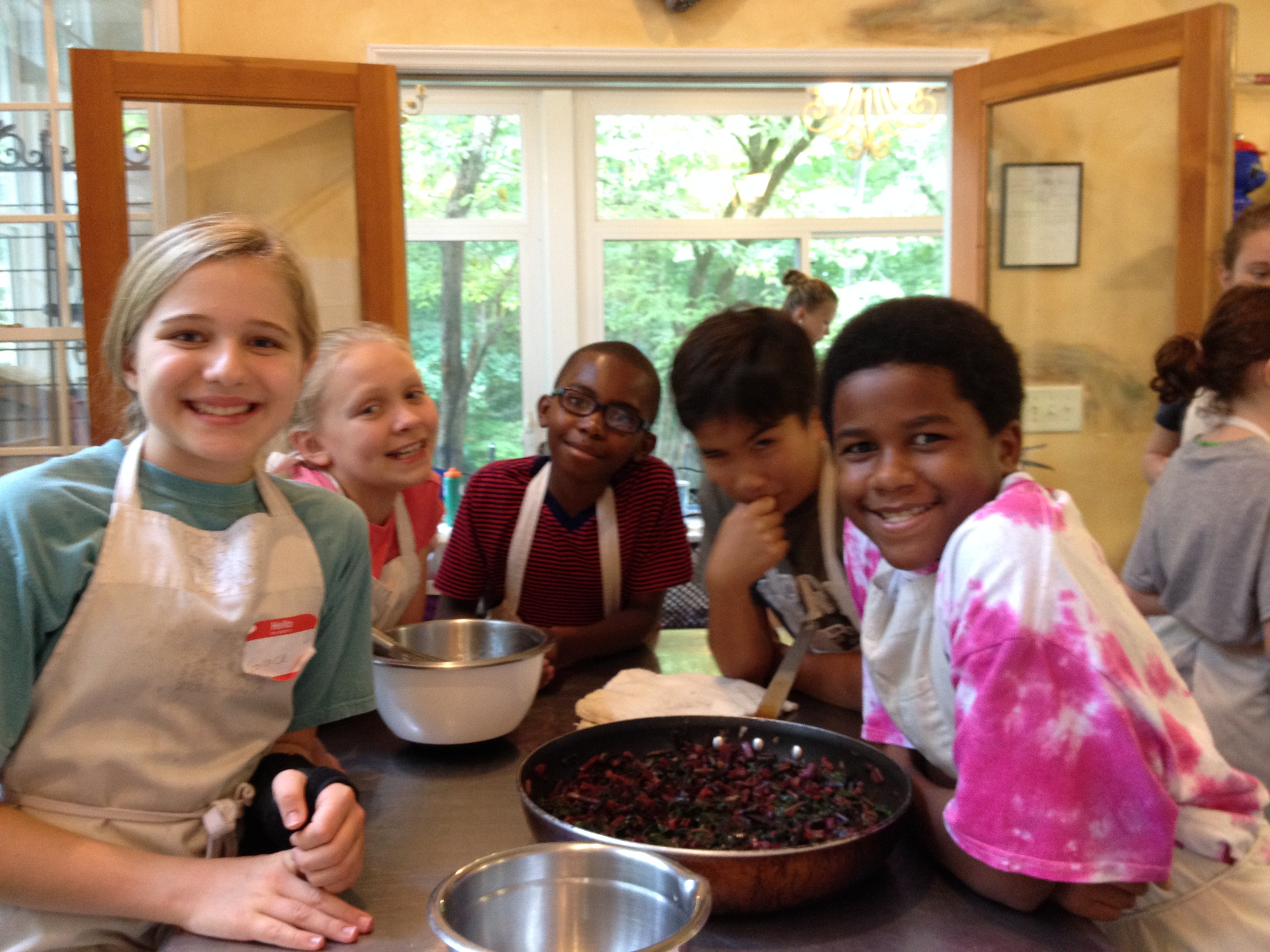 Learn about our Kid Chefs program